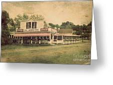 Wilson's Restaurant And Ice Cream Parlor Greeting Card