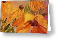 Wilting Glory Greeting Card