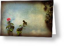 Wilting Rose Greeting Card