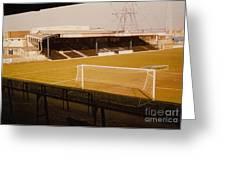 Wimbledon Fc - Plough Lane - Main Stand 1 - 1969 Greeting Card