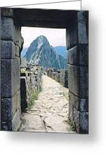 Winay Picchu Greeting Card
