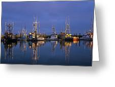 Winchester Bay Reflections Greeting Card