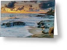 Wind And Sea Greeting Card