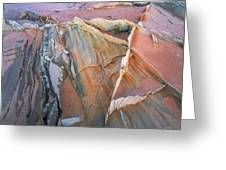 Wind Blown Sand Texture Greeting Card