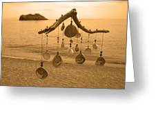 Wind Chime Greeting Card