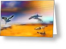 Wind Drifters Greeting Card