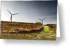 Wind Driven Greeting Card