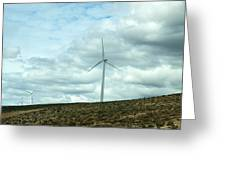 Wind Farm Greeting Card