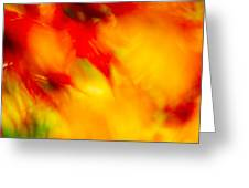 Wind In The Peaches Greeting Card