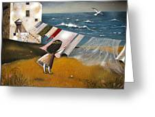 Wind Of Change. Greeting Card