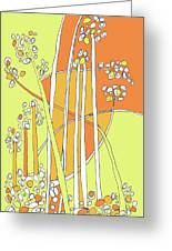 Wind Plants Greeting Card