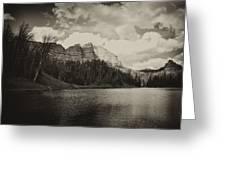 Wind River Lake Greeting Card