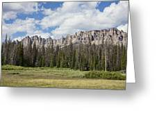 Wind River Mountains Greeting Card