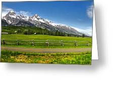 Wind River Range In West Central Wyoming - 04 Greeting Card