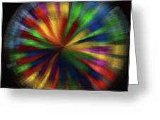 Wind Spinner 4 Greeting Card