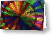 Wind Spinner 7 Greeting Card