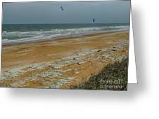 Wind Surfing In Flagler Greeting Card