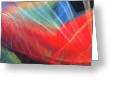 Windblown Dress Greeting Card