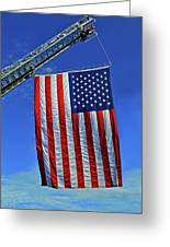 Winder Fire Department - 9-11-16 Greeting Card