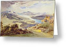 Windermere From Ormot Head Greeting Card