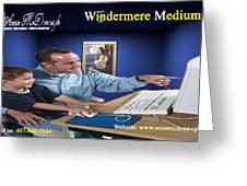 Windermere Medium Greeting Card