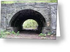 Windham Rail Trail Bridge Greeting Card