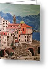 Winding Roads Of Italy Greeting Card