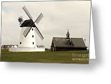 Windmill At Lytham St. Annes - England Greeting Card