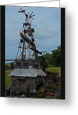 Windmill House 1 Greeting Card