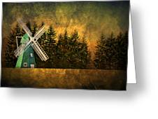 Windmill On My Mind Greeting Card