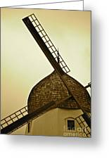 Windmills Of Your Mind Greeting Card
