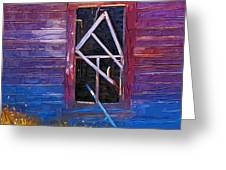 Window-1 Greeting Card
