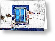 Window 17 Greeting Card