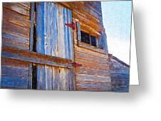 Window 3 Greeting Card