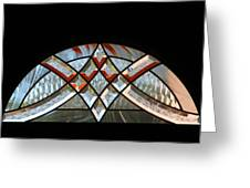 Window Arch Greeting Card