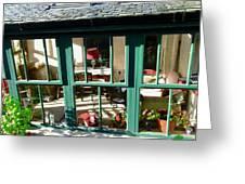Window At Corcreggan's Mill Greeting Card