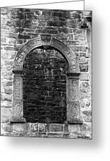 Window At Donegal Castle Ireland Greeting Card