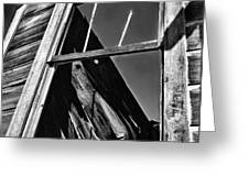 Window But No Roof Greeting Card