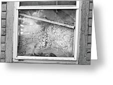 Window Frame  Greeting Card