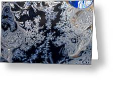 Window Frost Abstract II Greeting Card