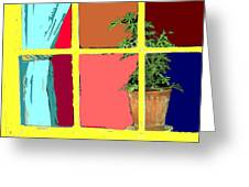 Window Greeting Card