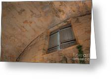 Window In Castillo De San Marcos Greeting Card