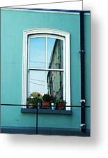 Window In Ennistymon Ireland Greeting Card
