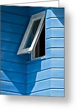 Window In The Corner In St Lucia Greeting Card