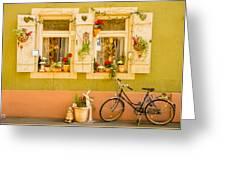 Window Into Heidelberg Greeting Card