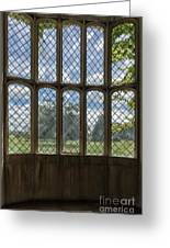 Lacock Abbey Wales Greeting Card