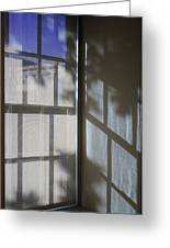 Window Lines Greeting Card