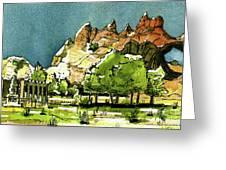 Window Rock Arizona Greeting Card