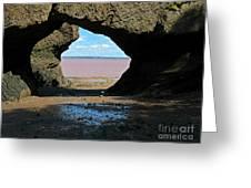 Window Rock Greeting Card