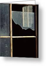 Window. Greeting Card